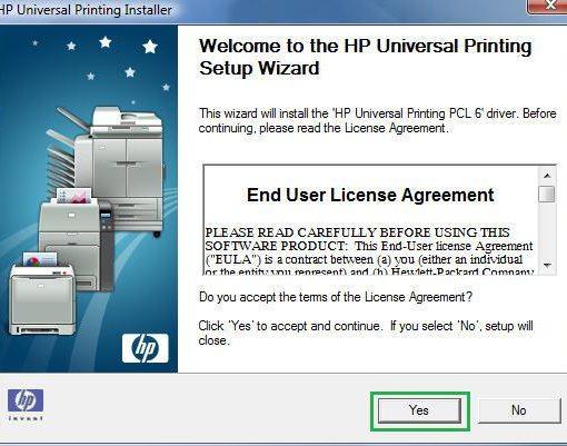 HP Universal Print Driver